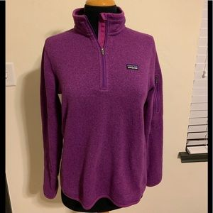 Women's Patagonia pullover purple size medium